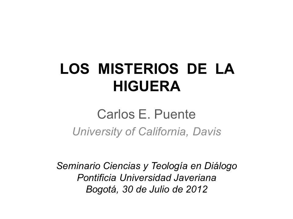 LOS MISTERIOS DE LA HIGUERA Carlos E.