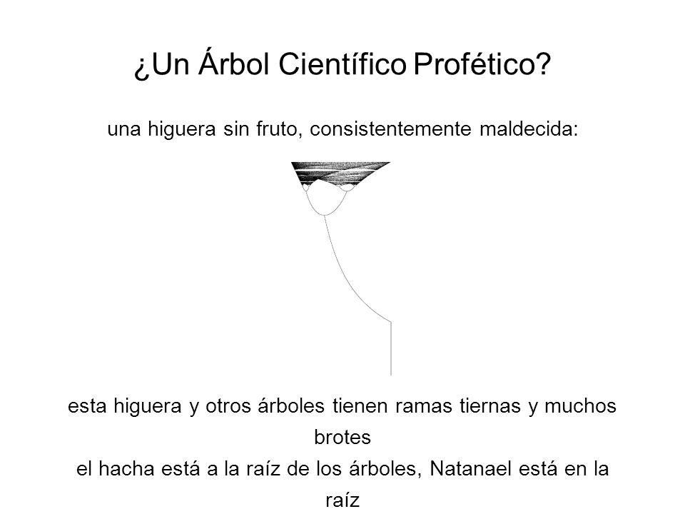¿Un Árbol Científico Profético.