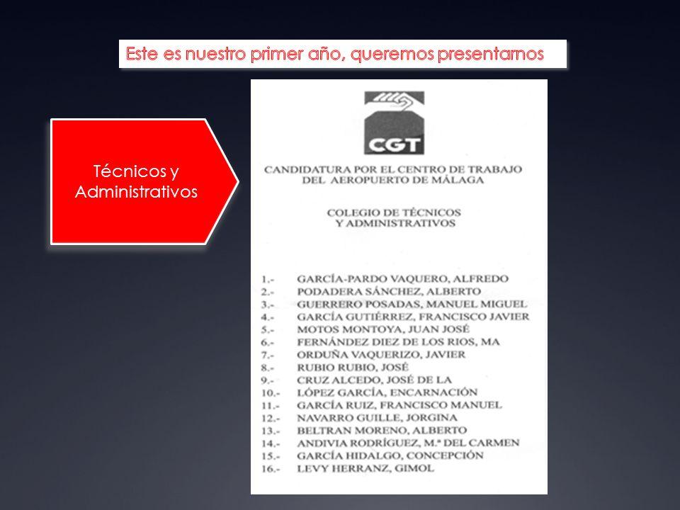 Técnicos y Administrativos