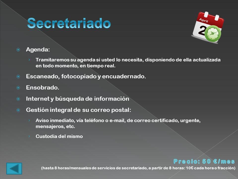 Comunicaciones: Prepararemos todos los escritos y comunicaciones que su empresa necesite para el eficaz desarrollo de su actividad.