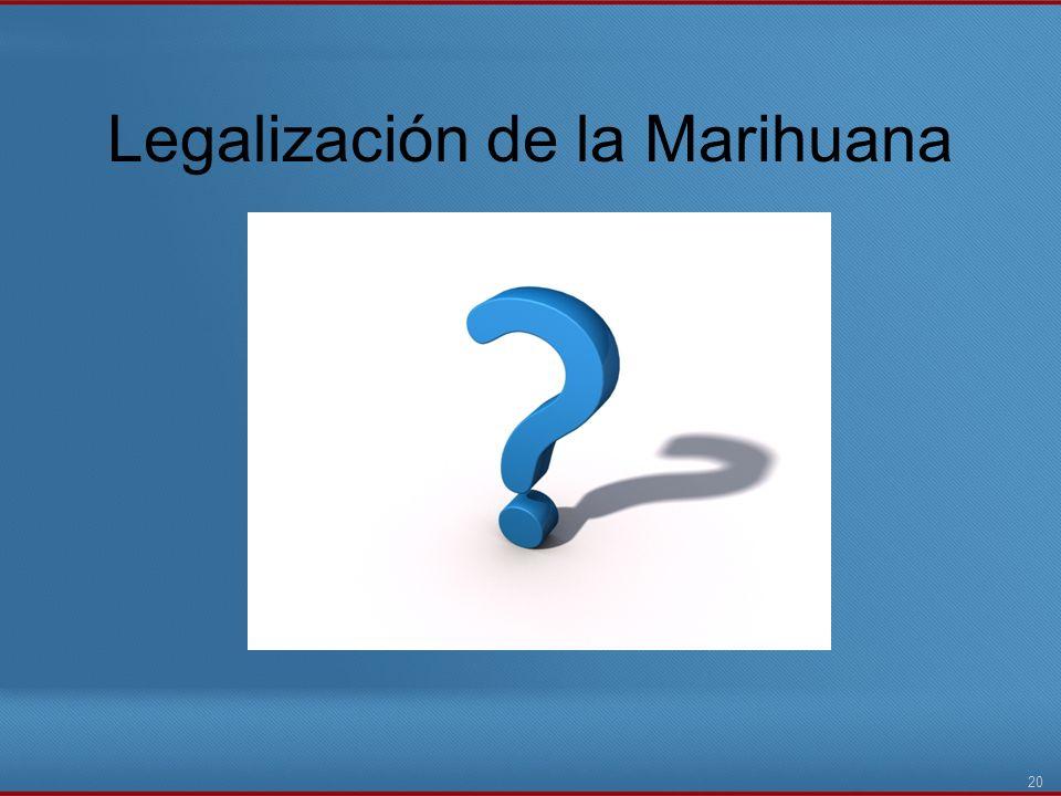Legalización de la Marihuana 20
