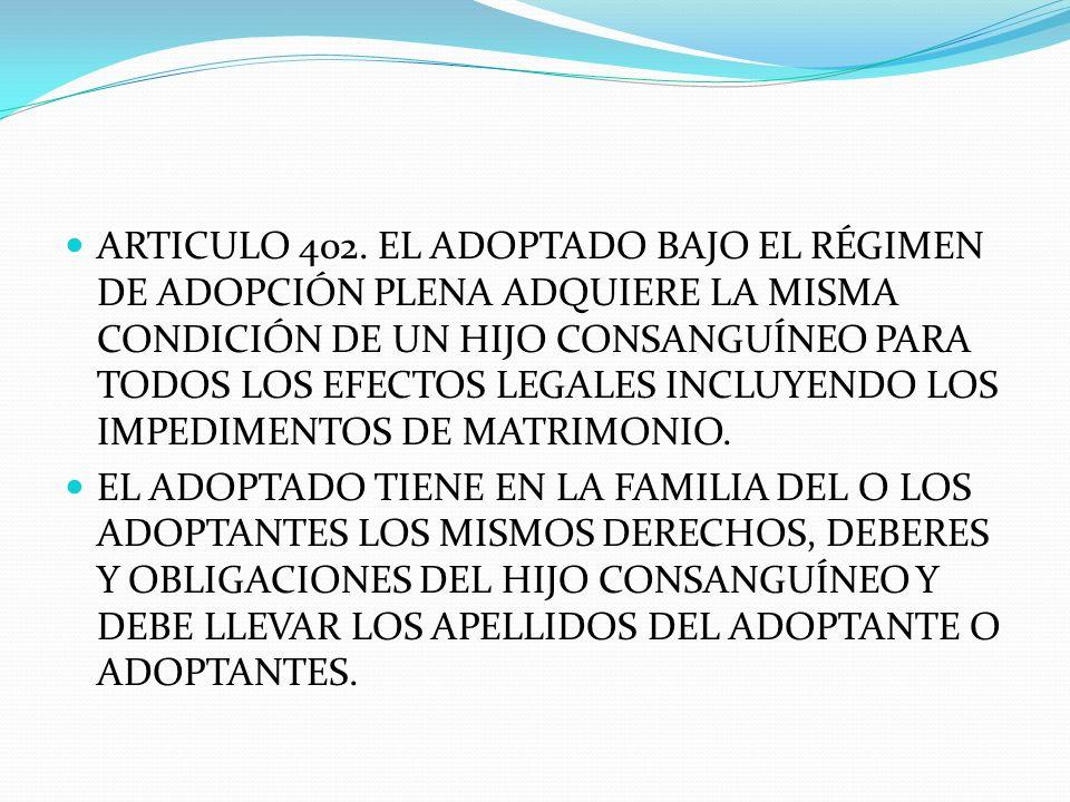 ARTICULO 402.