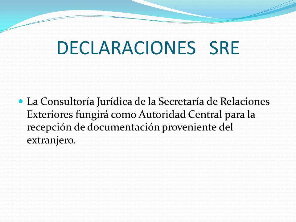 DECLARACIONES.II.