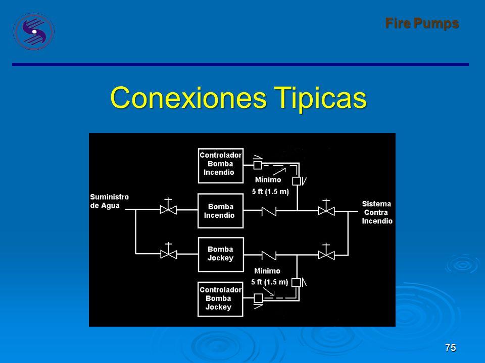 75 Fire Pumps Conexiones Tipicas