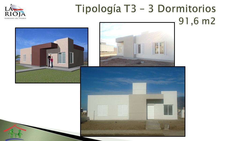 Tres dormitorios Living –Comedor Cocina – Lavadero Baño - Antebaño Flexibilidad para futuras ampliaciones