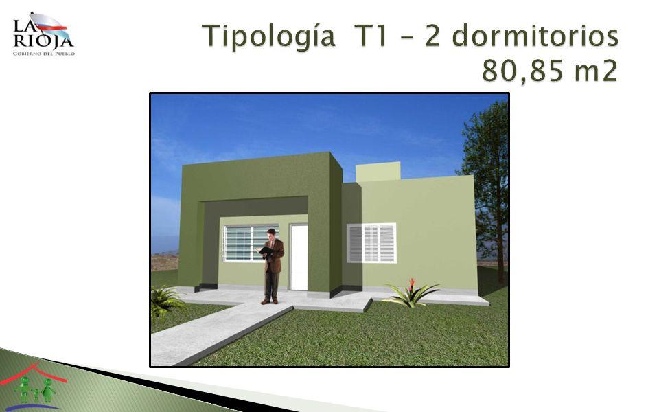 Dos dormitorios Estar –Comedor Cocina – Lavadero Baño - Antebaño Flexibilidad para futuras ampliaciones