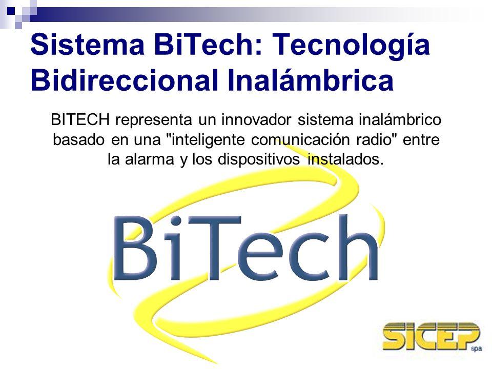 Sistema BiTech: Tecnología Bidireccional Inalámbrica BITECH representa un innovador sistema inalámbrico basado en una