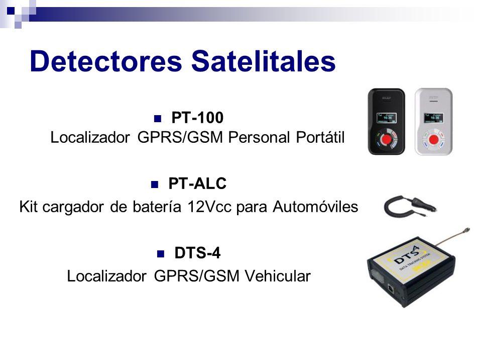 PT-100 Localizador GPRS/GSM Personal Portátil PT-ALC Kit cargador de batería 12Vcc para Automóviles DTS-4 Localizador GPRS/GSM Vehicular Detectores Sa