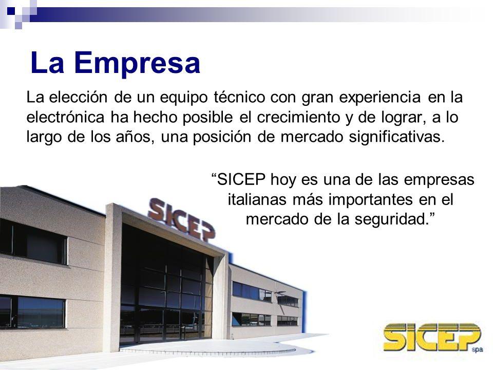 Certificationes La experiencia y la atención a los estándares de calidad ha llevado SICEP a obtener, por más de 10 años, importantes certificaciones UNI EN ISO (la última UNI EN ISO 9001:2000) y crear soluciones tecnológicas innovadoras.