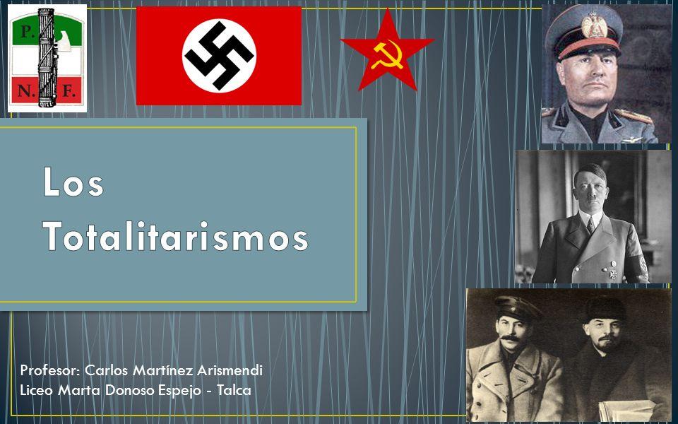 Profesor: Carlos Martínez Arismendi Liceo Marta Donoso Espejo - Talca