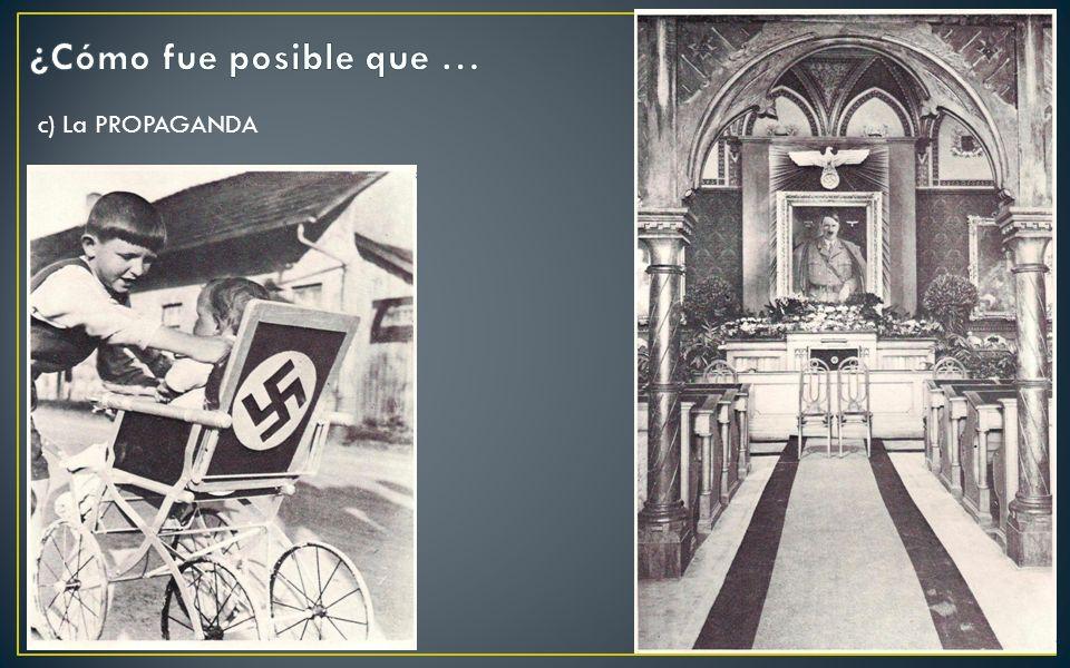 c) La PROPAGANDA