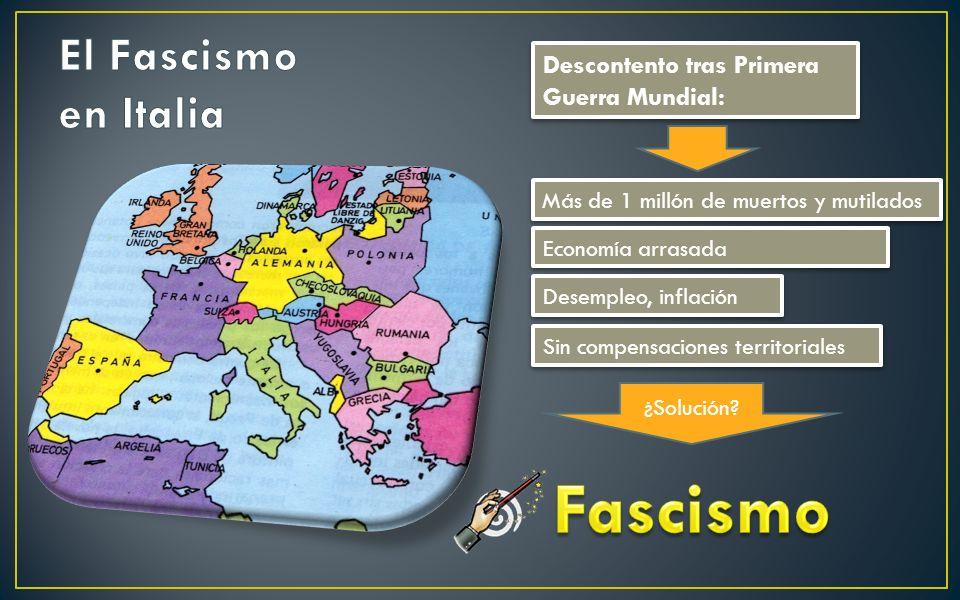 Férreo control de todas las esferas de la sociedad Partido único Lideres autocráticos, carismáticos y convincentes Antidemocráticos Control de los med