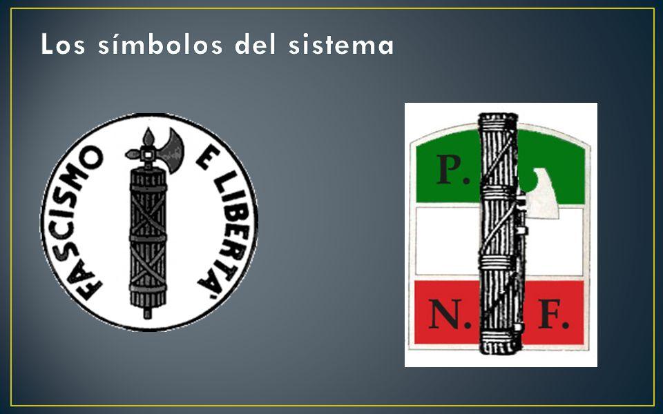 El Fascismo en Italia Política económica Intervención del Estado Autarquía Protección industrial Energía propia Estado Corporativo