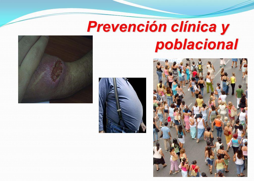 Prevención clínica y poblacional