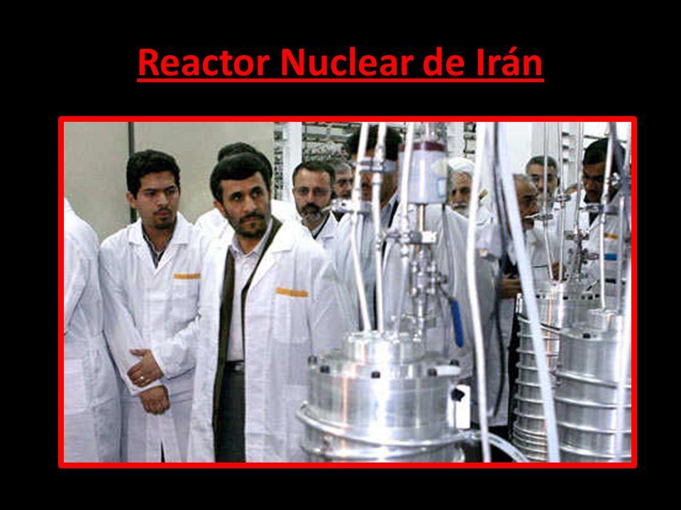 Reactor Nuclear de Irán