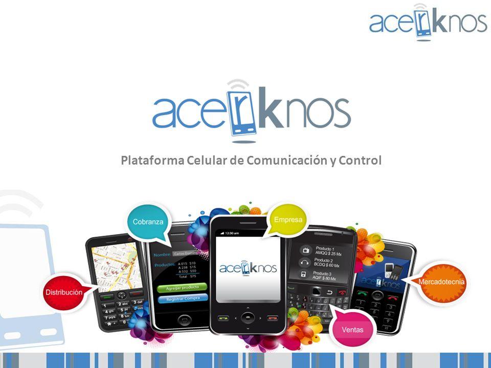 Plataforma Celular de Comunicación y Control
