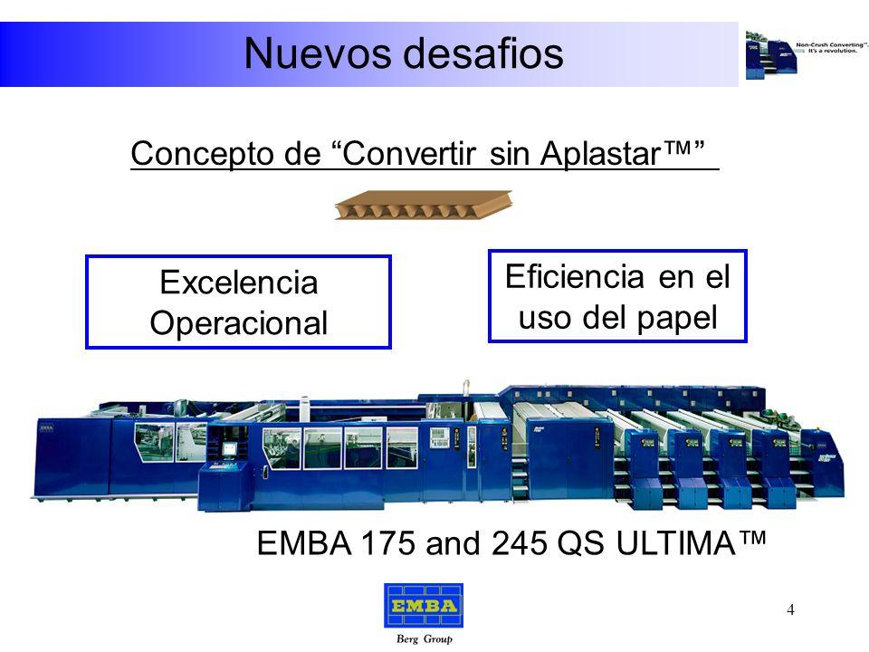 Nuevos desafios EMBA 244 EMBA 175/245 QS ULTIMA 3