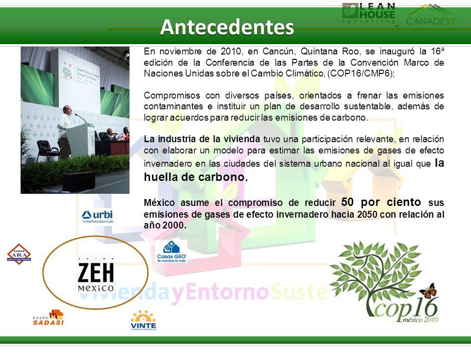 En noviembre de 2010, en Cancún, Quintana Roo, se inauguró la 16ª edición de la Conferencia de las Partes de la Convención Marco de Naciones Unidas so