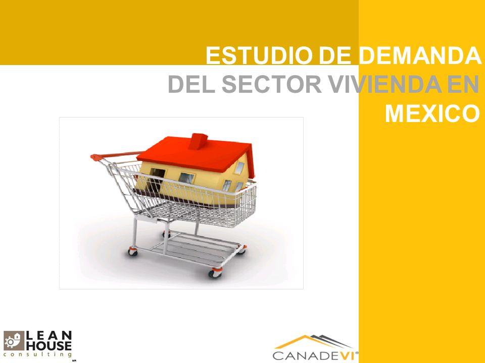 ESTUDIO DE RENTABILIDAD DEL SECTOR VIVIENDA EN MEXICO ESTUDIO DE DEMANDA DEL SECTOR VIVIENDA EN MEXICO