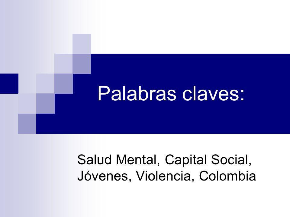 Cuadro 1 Resumen de los elementos que componen el resultado de ocho factores de capital social.