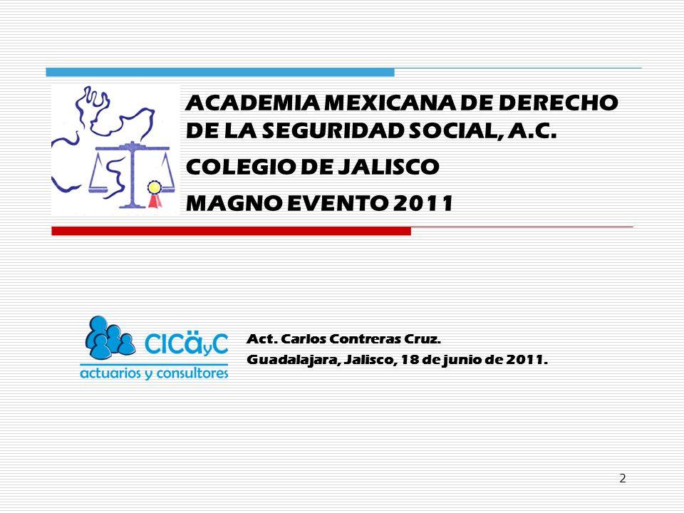 2 ACADEMIA MEXICANA DE DERECHO DE LA SEGURIDAD SOCIAL, A.C.