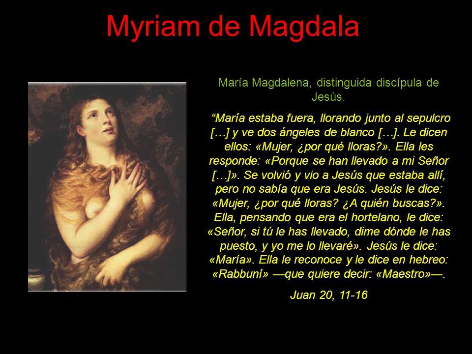 Marta y María Hermanas de Lázaro y amigas de Jesús.