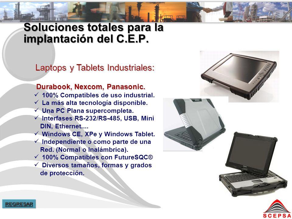 Soluciones totales para la implantación del C.E.P.