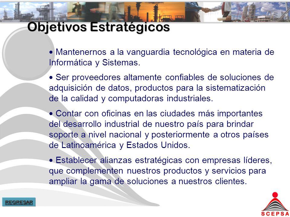 Objetivos Estratégicos Mantenernos a la vanguardia tecnológica en materia de Informática y Sistemas.