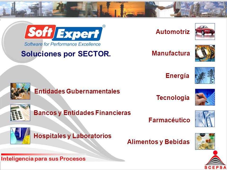 Soluciones por SECTOR.