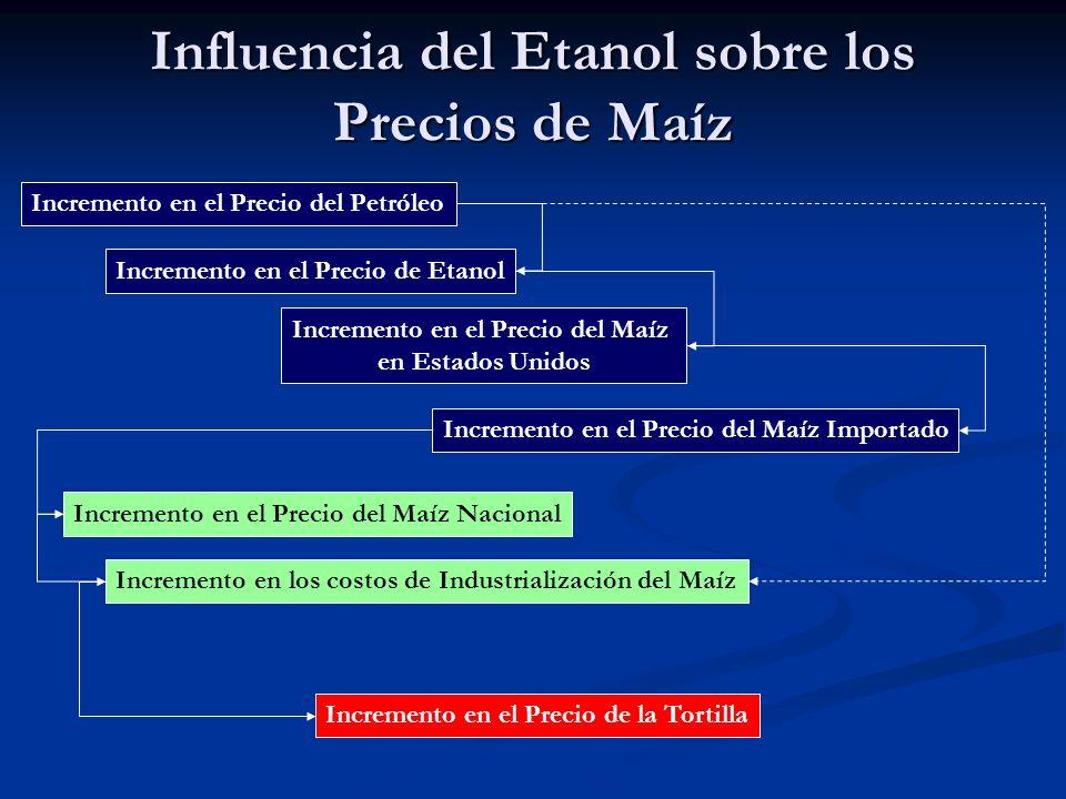 Efectos del incremento del Precio del Maíz Importado en el Nacional 2006 2007