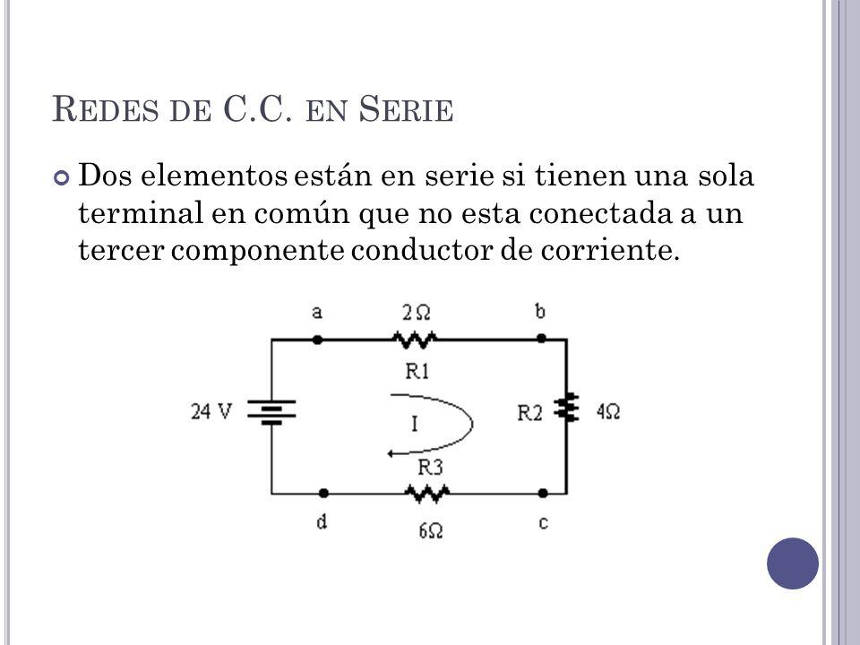 R EDES DE C.C.