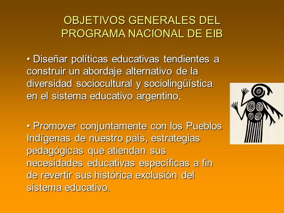 Diseñar políticas educativas tendientes a construir un abordaje alternativo de la diversidad sociocultural y sociolingüística en el sistema educativo argentino Diseñar políticas educativas tendientes a construir un abordaje alternativo de la diversidad sociocultural y sociolingüística en el sistema educativo argentino.