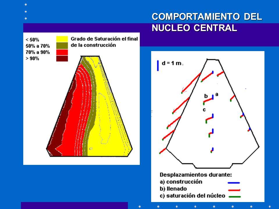COMPORTAMIENTO DEL NUCLEO CENTRAL