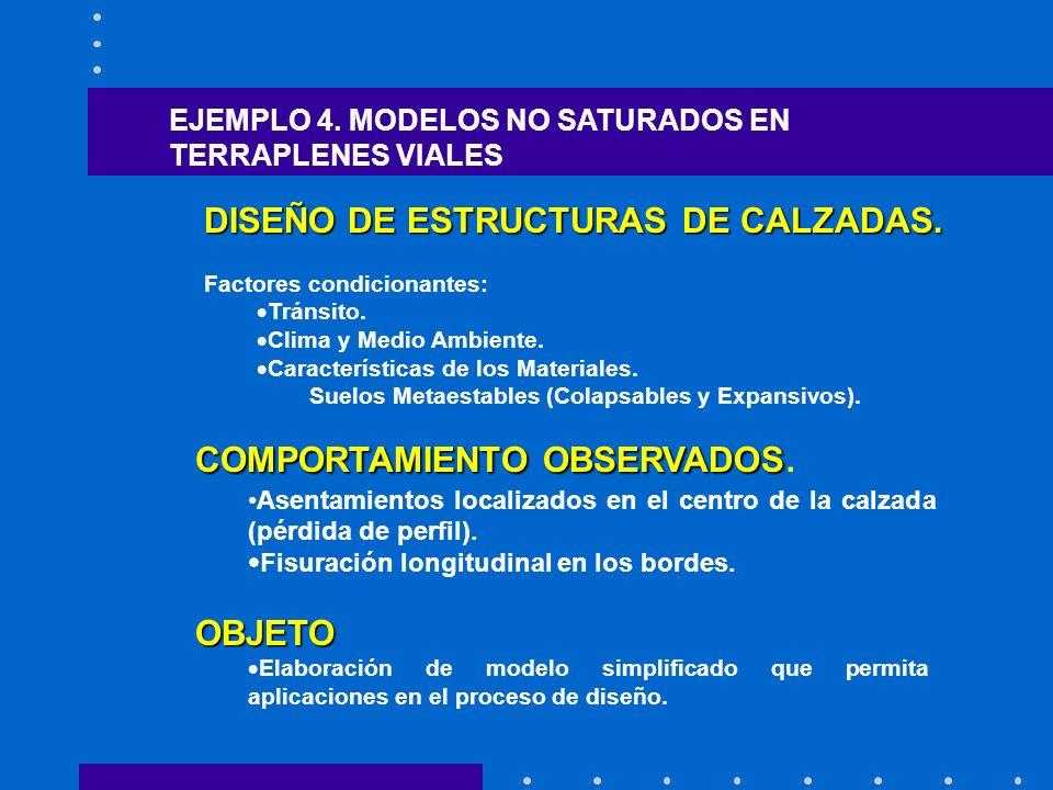 DISEÑO DE ESTRUCTURAS DE CALZADAS. Factores condicionantes: Tránsito.