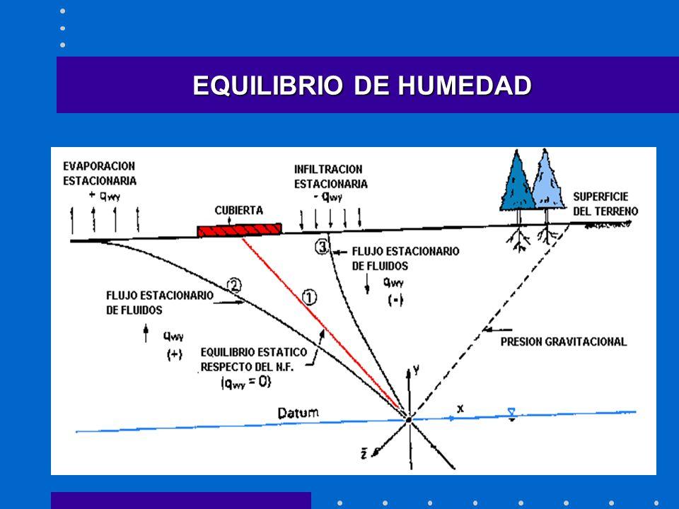 EQUILIBRIO DE HUMEDAD