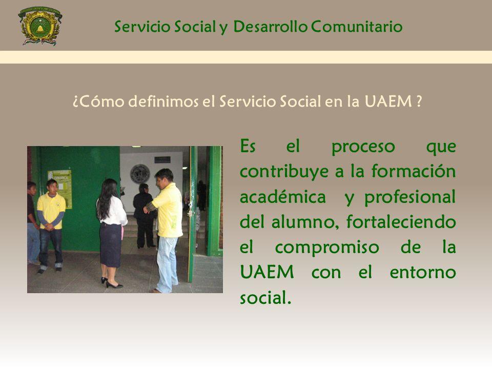 Servicio Social y Desarrollo Comunitario PERIODOS 1er.