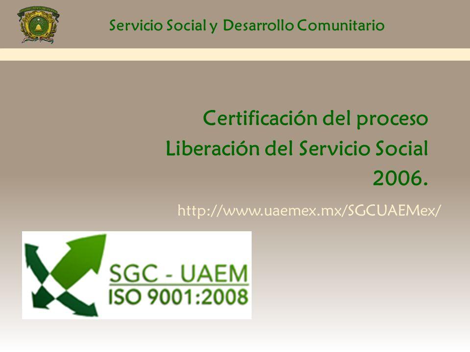 Servicio Social y Desarrollo Comunitario ORGANIZACIÓN 1.Se integran con un mínimo de cuatro y un máximo de ocho ó con el número de alumnos requeridos para un proyecto específico.