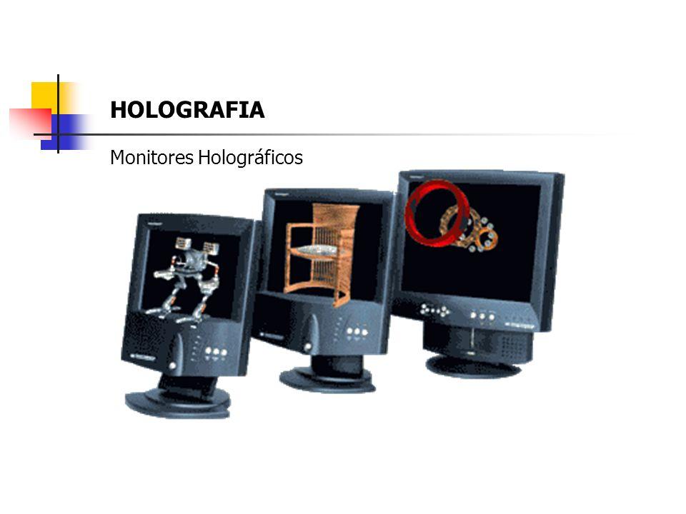 HOLOGRAFIA Monitores Holográficos