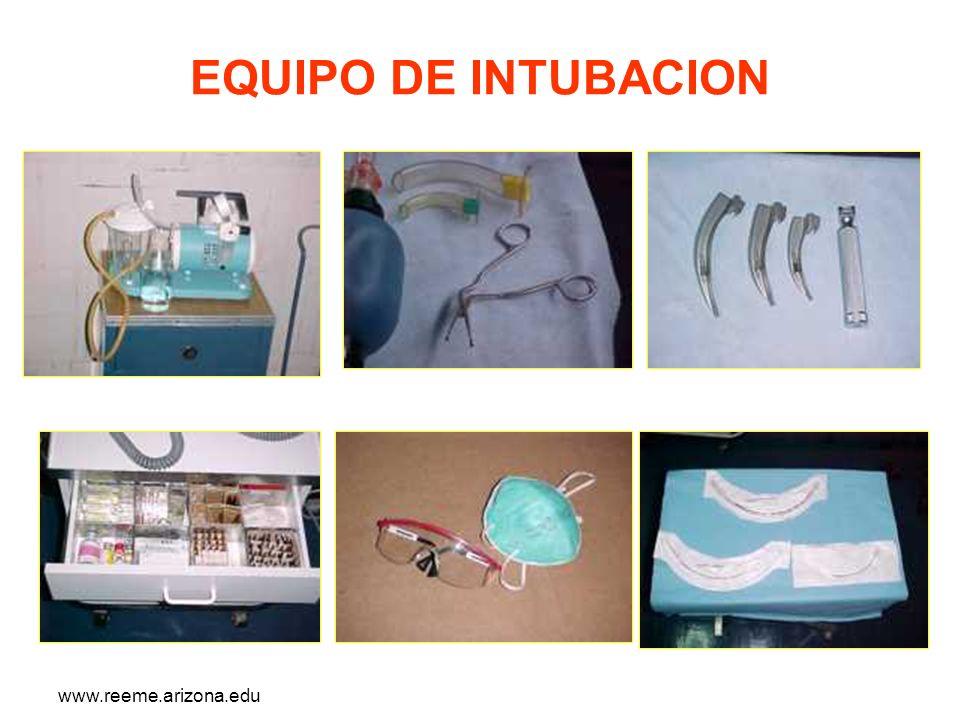www.reeme.arizona.edu EQUIPO DE INTUBACION