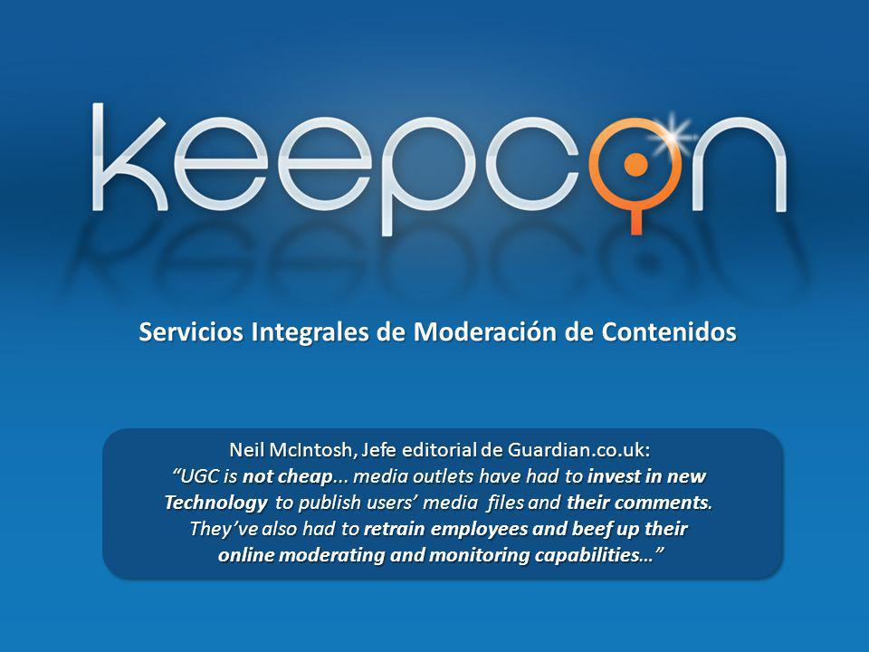 Servicios Integrales de Moderación de Contenidos Neil McIntosh, Jefe editorial de Guardian.co.uk: Neil McIntosh, Jefe editorial de Guardian.co.uk: UGC