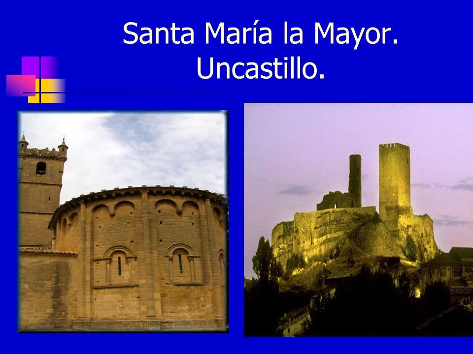 Santa María la Mayor. Uncastillo.