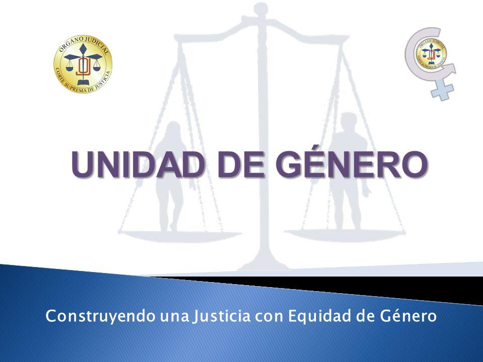 Construyendo una Justicia con Equidad de Género