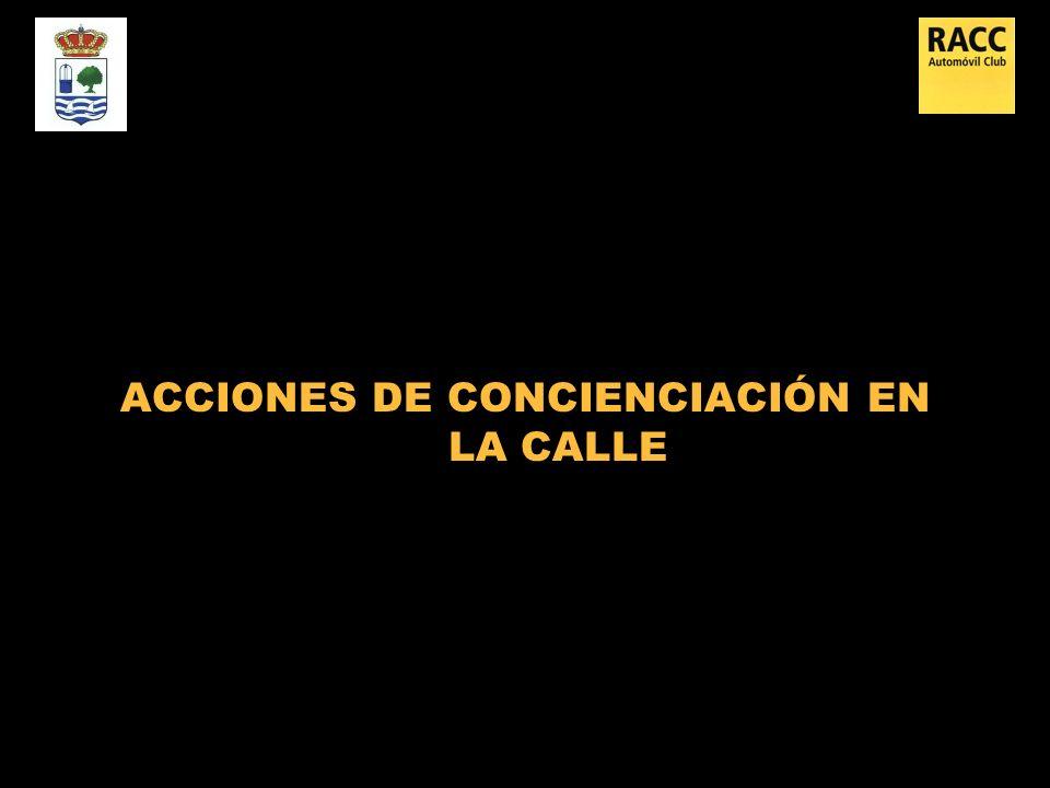 ACCIONES DE CONCIENCIACIÓN EN LA CALLE