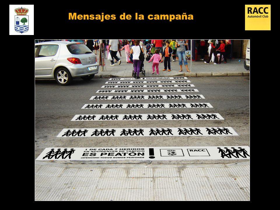 Mensajes de la campaña