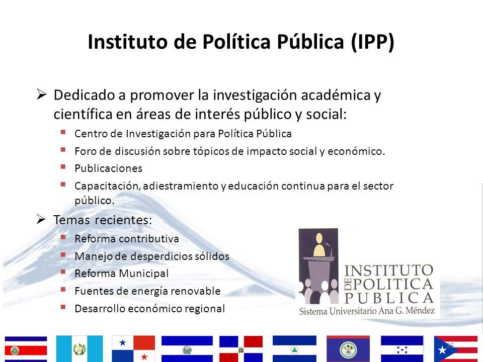 35 Dedicado a promover la investigación académica y científica en áreas de interés público y social: Centro de Investigación para Política Pública For
