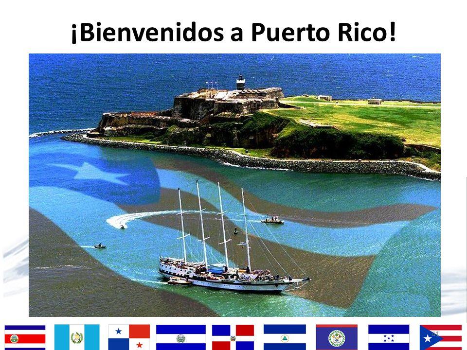 41 ¡Bienvenidos a Puerto Rico!