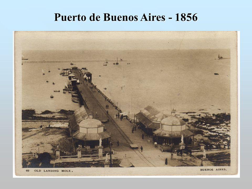 Puerto de Buenos Aires - 1856