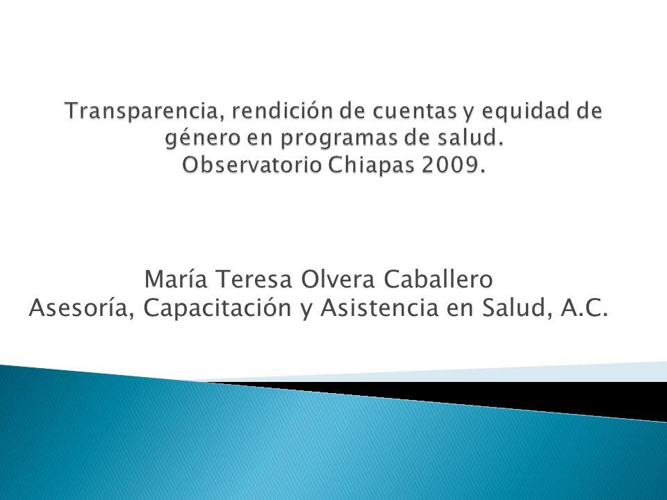 María Teresa Olvera Caballero Asesoría, Capacitación y Asistencia en Salud, A.C.