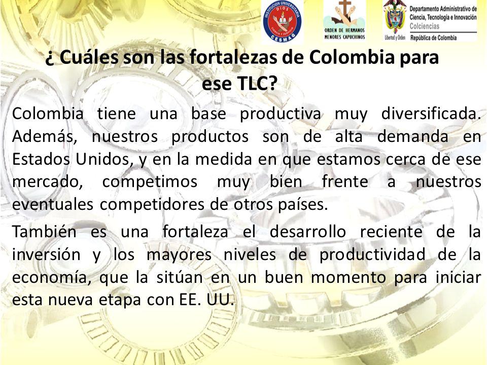 CONGRESO TLC EN EL AMBITO ECONOMICO El crecimiento del volumen de comercio internacional del país, tanto en exportaciones como en importaciones.