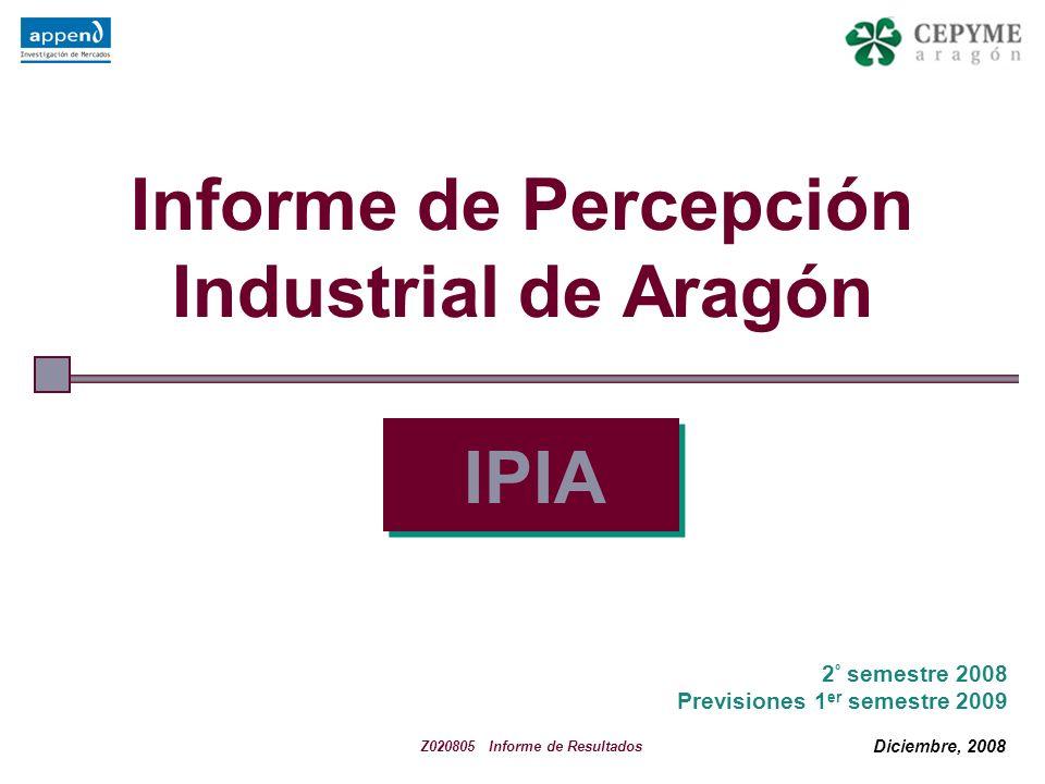 22 La recesión económica existente también motiva que el industrial aragonés incremente la imagen pesimista de la economía aragonesa, ya observada en anteriores semestres.